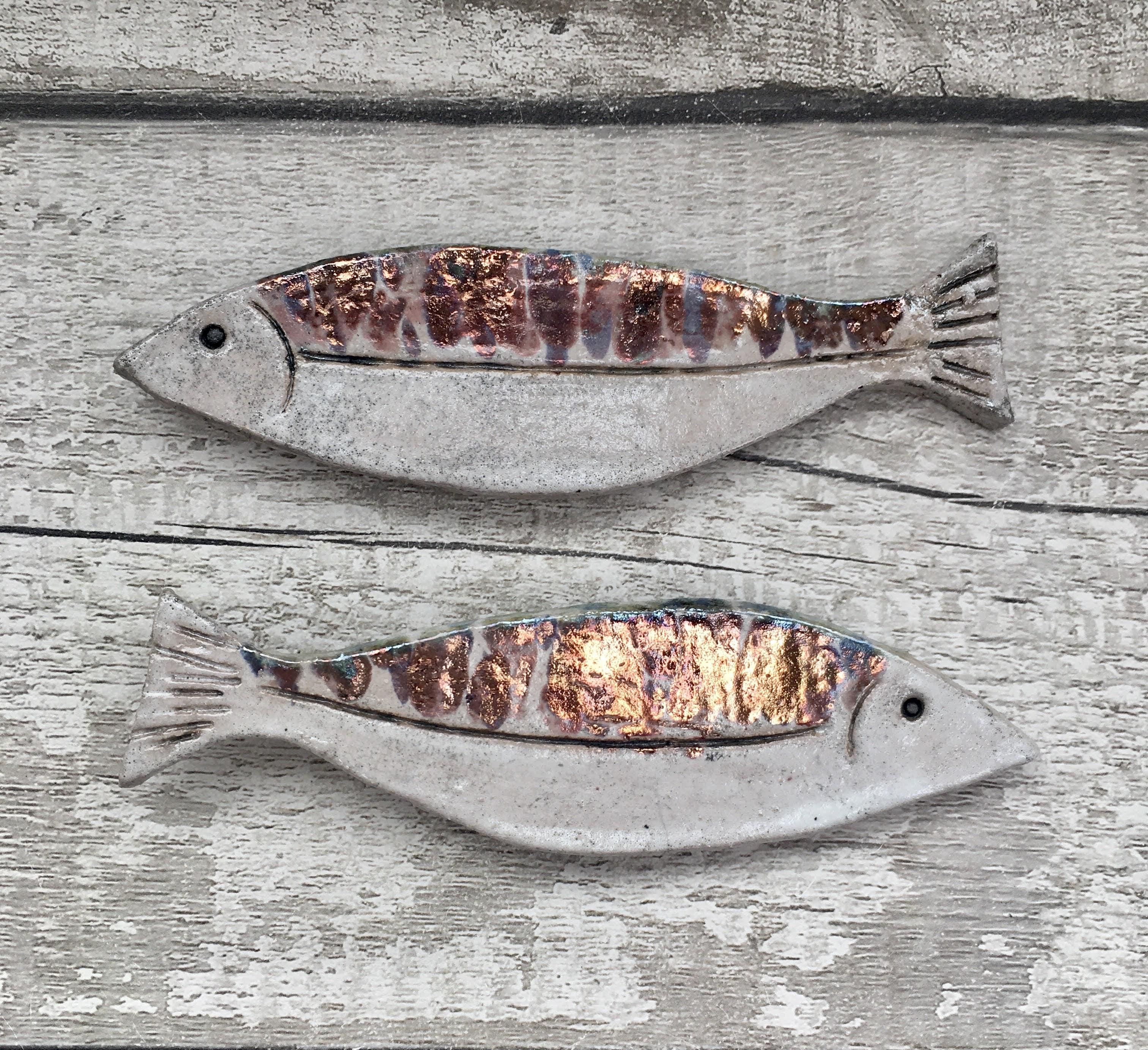 ceramic fish for wall